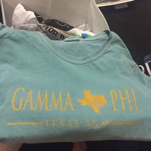 A&M sorority shirt COMFORT COLORS XL